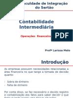 Contabilidade Intermediária_operações Financeiras