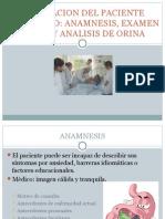 evaluación del paciente urológico