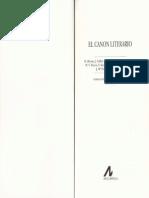 Kermode. Frank - El Canon Literario