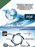 Resiliencia y Conflictos en Gerentes de Proyectos