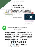Matematicas 2º Bachillerato Plan de Clases