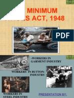 Minimum Wages Act, 1948