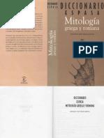 Diccionario Mitología Griega y Romana