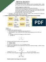 Cara Menentukan Bentuk Molekul Senyawa
