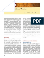 Feeding and Nutrition of Anteaters