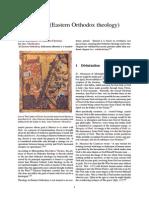 Theosis (Eastern Orthodox Theology)