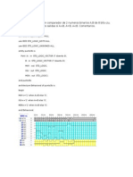 Comparador en VHDL.