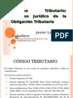 Regimen Juridico de La Obligacion Tributaria