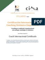 1_Syllabus_aiac_2013 - Plan de Estudios de La Certificación en Coaching