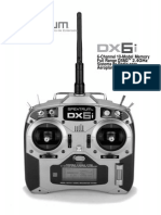 Spektrum DX6i Manual Español