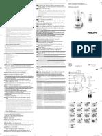 Manual HR2034, HR2030 phillips