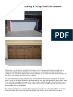 The Mishaps Of Obtaining A Garage Doors Sacramento