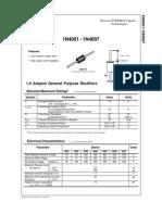 1N4007 diodo