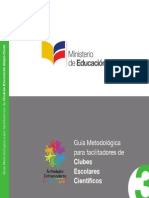 Guia Metodologica - Club - Cientifico.