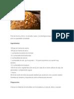 Pan de Avena y Arroz