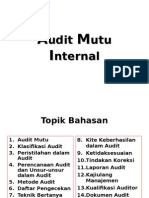 Internal Mutu Audit-PT