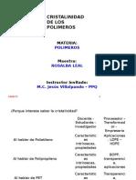 Cristalinidad de Los Polímeros