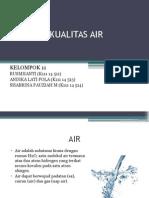 Analisis Kualitas Air