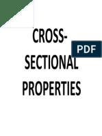 Week 7 Geometric Properties