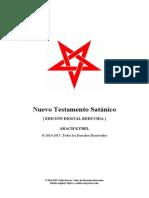 Arach Kybel Nuevo Testamento Satanico Libro I