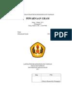 Muhammad Ismail 260110130132 Pewarnaan Gram
