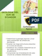 Geología Del Sur Del Ecuador-CARLOMAGNO AGUAS COBEÑA