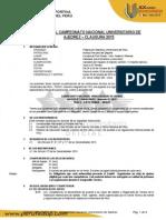Bases de Ajedrez - Campeonato Universitario