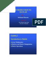 Arrays & Matices