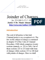 joinder of charges