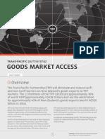 TPP Factsheet Goods Market Access