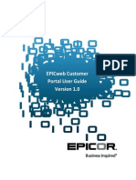 EPICweb Customer Portal User Guide