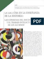 La lectura en la enseñanza de la historia