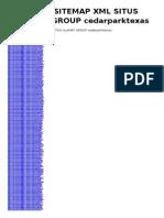 Arsip Sitemap XML Situs Alamat Group - Cedarparktexas
