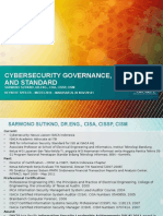 Cybersecurity Governance, Risk and Standard - MICEEI Nov 2014