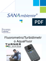 Fluorometro-Turbidimetro AquaFluor Turner Designs 2015