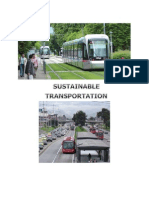 Sustainable Transportation & Sts