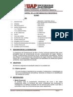 Analisis y Control de La Contaminancion Atmosferica