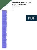 Arsip Sitemap XML Situs Alamat Group