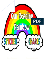 4 a Reading Rainbow Accent Pieces