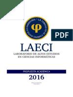 LAECI - Propuesta Académica 2016