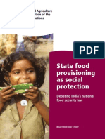 State food provisioning as social protection
