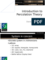 Introduction to Percolation Theory (2)