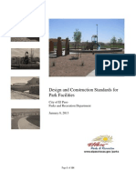 Park Design Construction Standardss