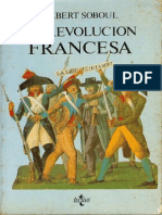 Soboul Albert, La Revolucion Francesa