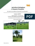 Agriculture biologique en Guyane française
