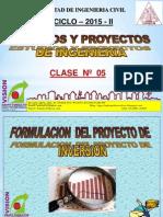 Clase 5 Esquema de Un Proyecto Privad 2015 II
