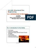 CE 808 Ch 1 Intr to Fire Safety