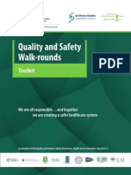 Patient Safety Walk-Rounds