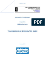 project mediactive youth -training course information guide