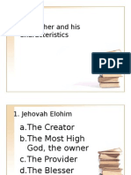 ibs1 our father and his characteristics